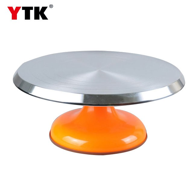 Baking Tools Cake Turntable 12 Inch Aluminum Alloy Non-slip Cake Turntable