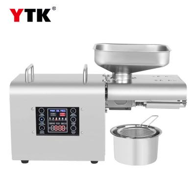2019 new smart oil press / stainless steel LCD touch screen consumer and commercial oil press