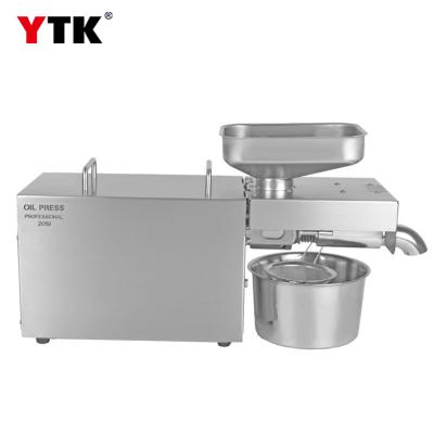 2019 new stainless steel large motor household oil press / commercial oil press
