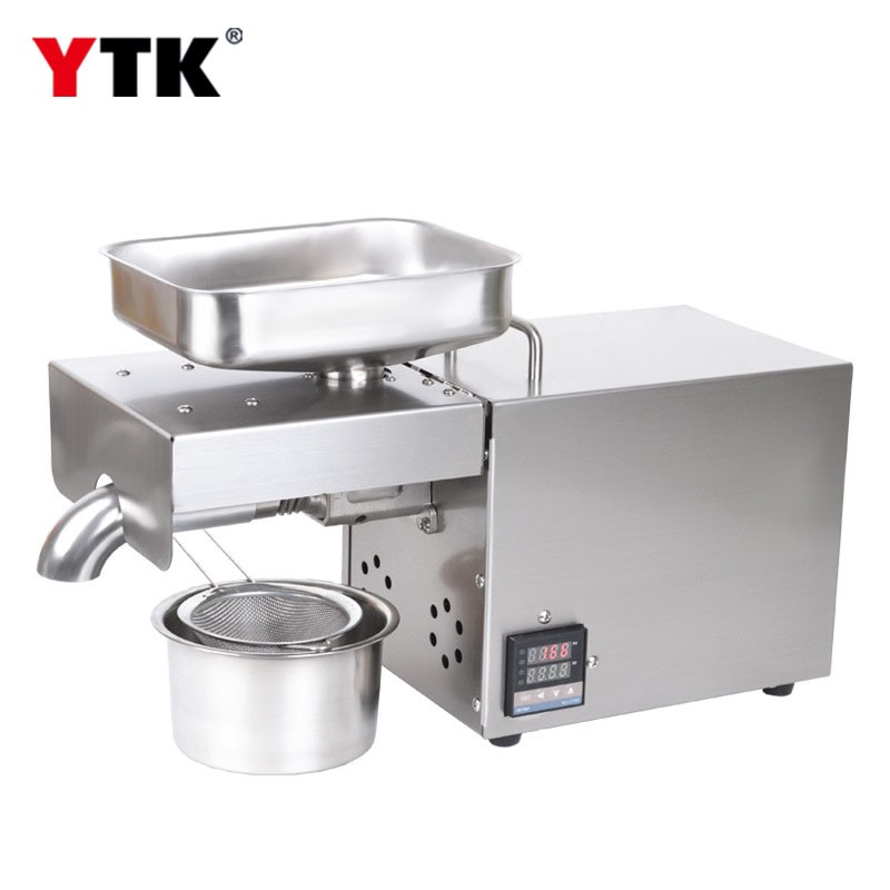 2019 new temperature control version stainless steel household oil press / commercial oil press