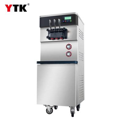 Big Three flavors soft ice cream machine Frozen Yogurt Ice Cream Machine