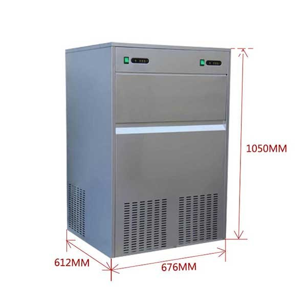 China Factory Sales 100kg/24h automatic ice machine