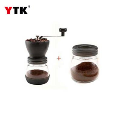 Coffee hand grinder with dust cover / Washing grinder / Manual mill / Coffee grinder