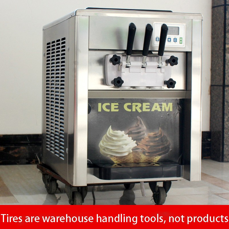 Commercial ice cream machine/ desktop soft ice cream machine/ cone machine