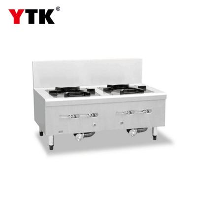 Double eye soup stove commercial hotel canteen hotel restaurant school kitchen equipment double head soup stove