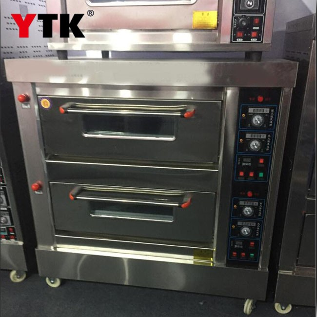 Double oven gas oven food baking oven electric oven three-layer nine-plate oven