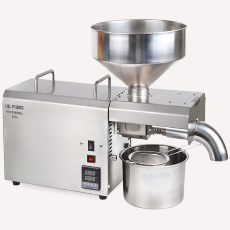 Export exclusively for automatic stainless steel oil press / small household oil press