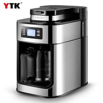 Factory direct American coffee machine drip type ground coffee pot household tea machine