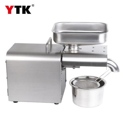 Factory wholesale automatic stainless steel household oil press / commercial oil press