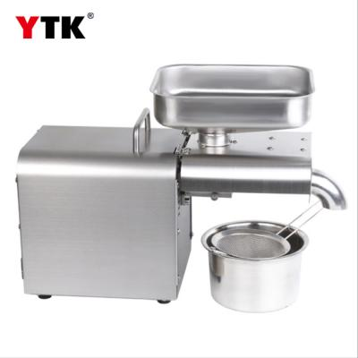 Factory wholesale automatic stainless steel household oil press commercial oil press export cross-border trade supply