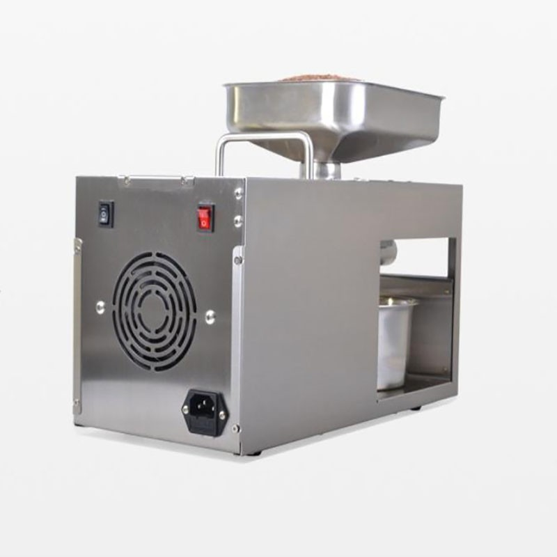 Household and commercial oil press / stainless steel automatic oil press wholesale and retail export