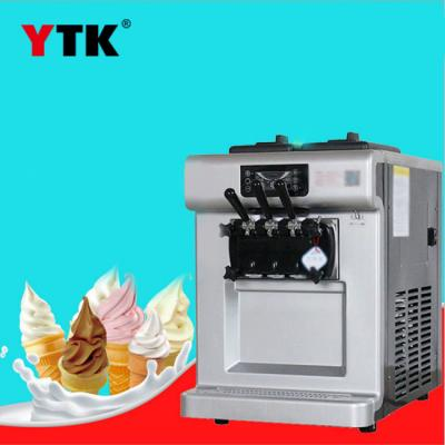 Ice cream machine commercial large output three-head desktop cold drink dessert shop