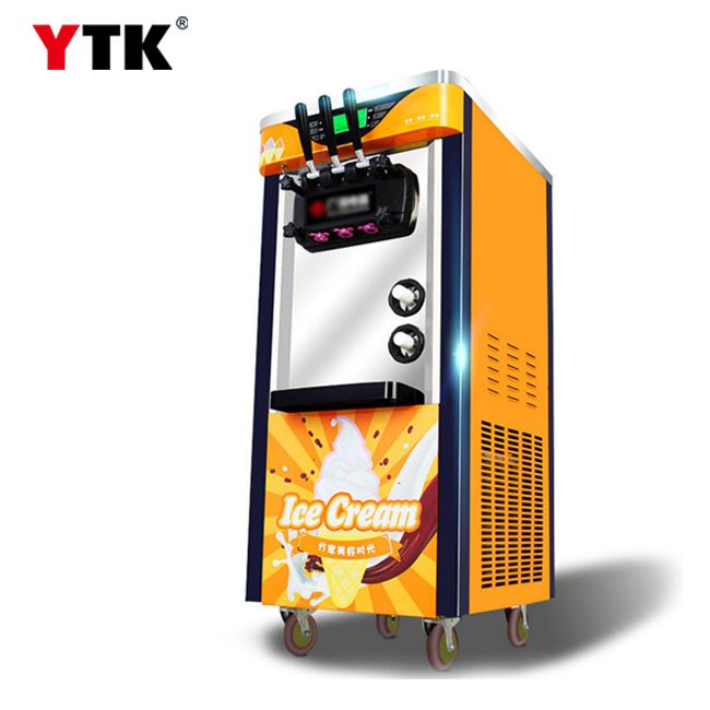 Ice cream machine Commercial vertical ice cream machine soft ice cream machine Commercial sweet tube machine factory direct sales