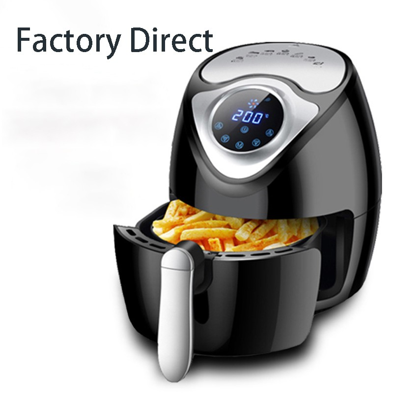 Air Fryer Home Smart Touch Screen Electric Fryer No Fume Large Capacity Fries Machine
