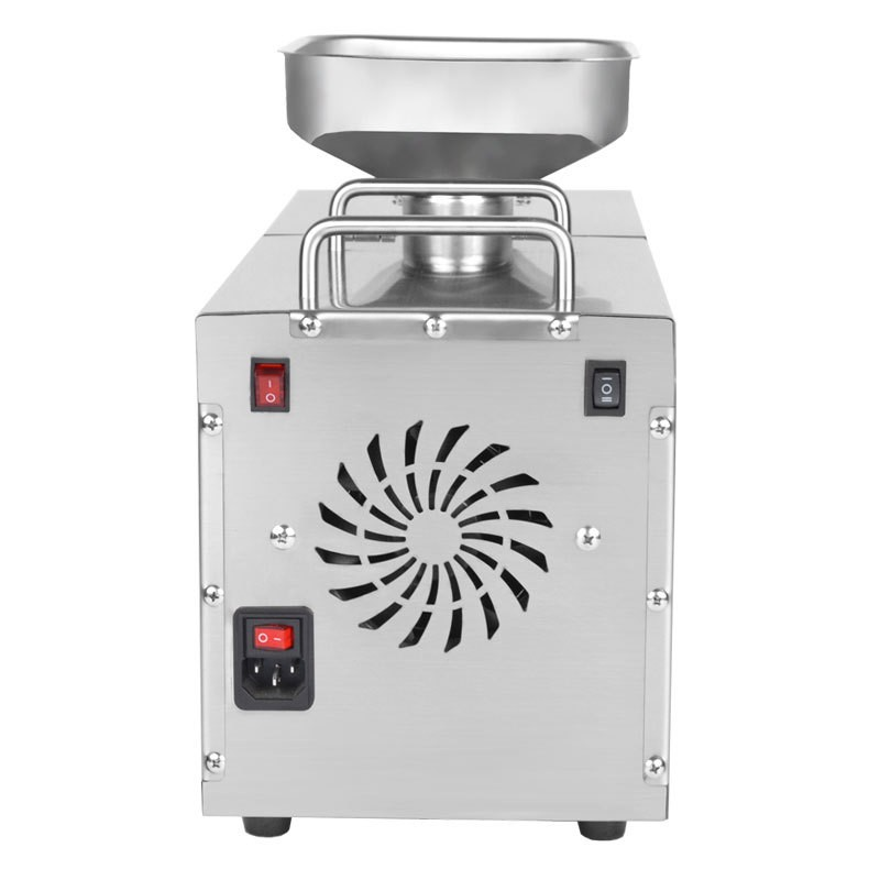 New stainless steel consumer and commercial oil press export CE