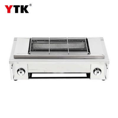 Smokeless BBQ commercial home multi-function grill outdoor commercial stainless steel gas with fan