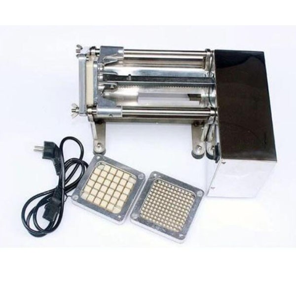 Stainless steel electric cutting machine / kitchen potato cutting machine / commercial potato cutting machine / factory direct sales