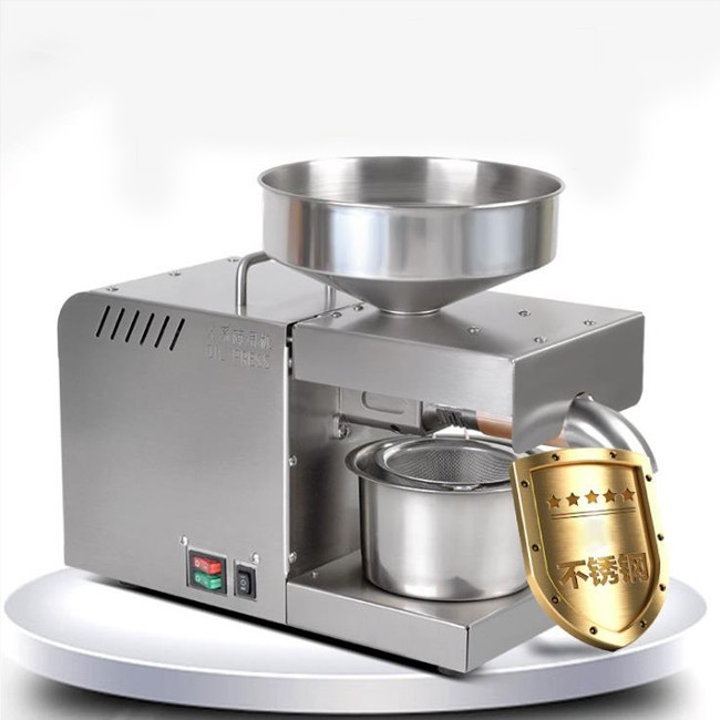 Stainless steel oil press household oil press commercial oil press wholesale export cross-border trade
