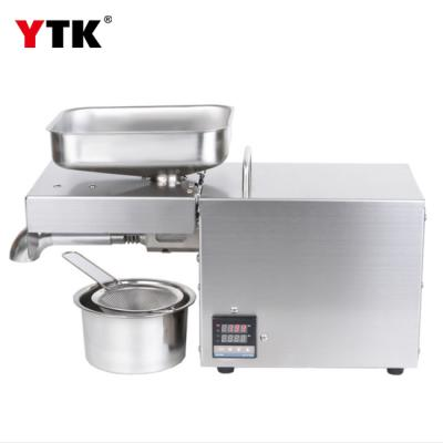Temperature control version of stainless steel household oil press commercial oil press wholesale export OEM