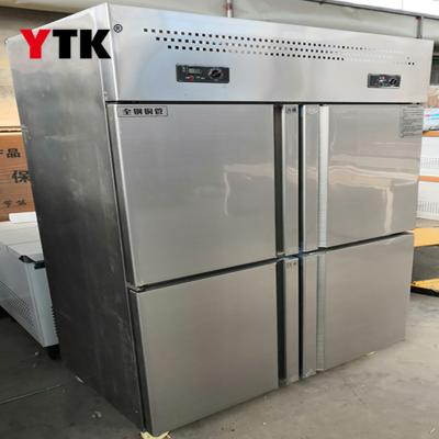 Three-dimensional freezer kitchen double-use refrigerated and frozen double-temperature freezer