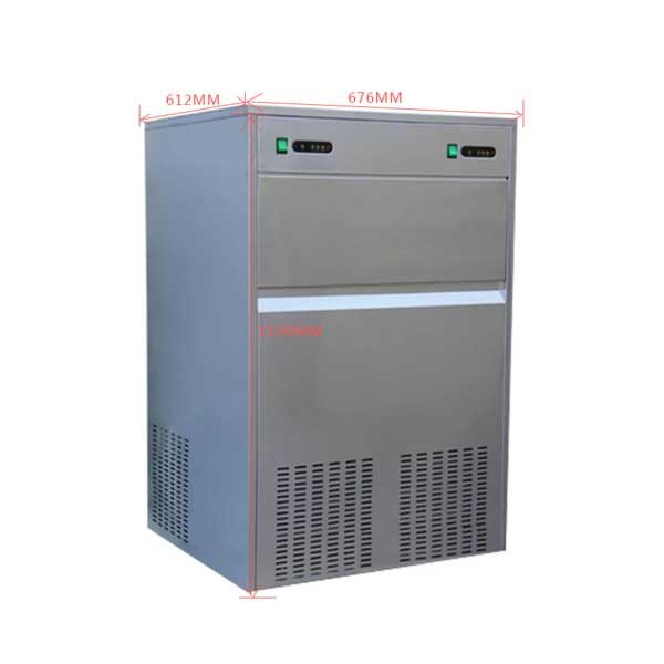 Factory direct stainless steel Snowflake Ice Machine Ice for Hotel Restaurant Kitchen