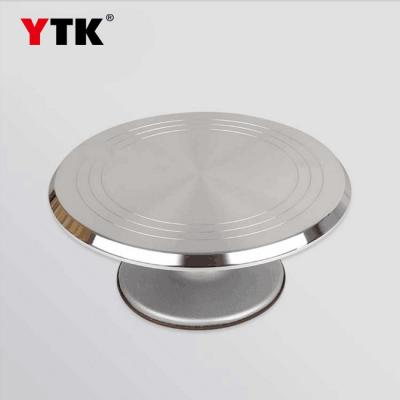 Factory direct cake aluminum alloy turntable 12 inch cake turntable baking utensils decorative cake turntable