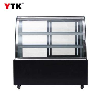 3C approved Commercial cake cabinet/ cake display cabinet refrigerated dessert Preservation cabinet