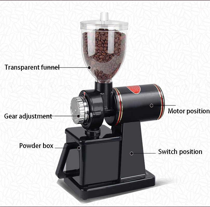 Factory direct coffee grinder /home electric coffee bean grinder small grinder commercial