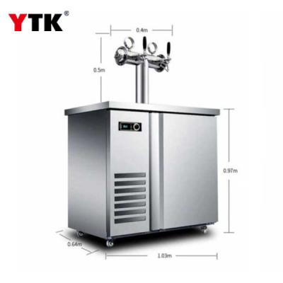 Beer machine /commercial beer refrigeration equipment / barbecue bar bar T-shaped wine column / single double four or six cans.