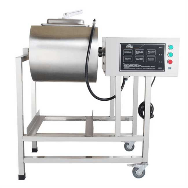 Tumbler commercial small stainless steel vacuum meat machine fried chicken burger shop equipment computer version vertical pickling machine