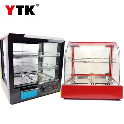 Commercial desktop thermostat cabinet display cabinet chestnut drink cooked burger egg tart warming cabinet