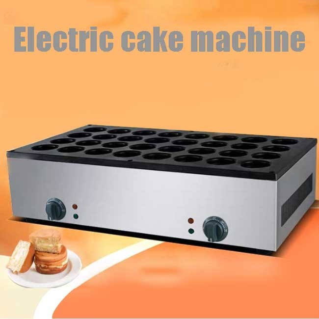 32-hole electric red bean cake machine commercial scone machine wheel cake Taiwan copper braised snack equipment