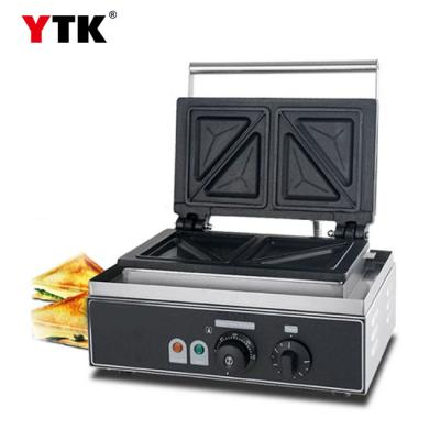 Commercial electric sandwich machine breakfast toast sandwich toaster casual coffee shop