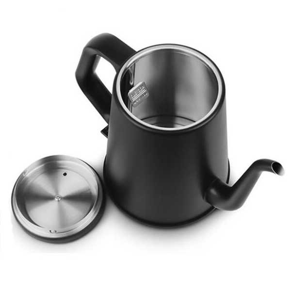 Nordic Europe Mu NSH1810 electric kettle / stainless steel long mouth coffee hand pot / fine mouth pot stainless steel