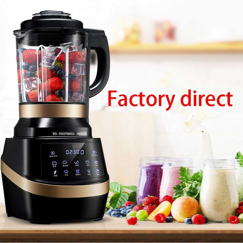Factory direct automatic heating multi-function broken machine/ grinding health food machine / soya-bean milk machine with 3C and SGS