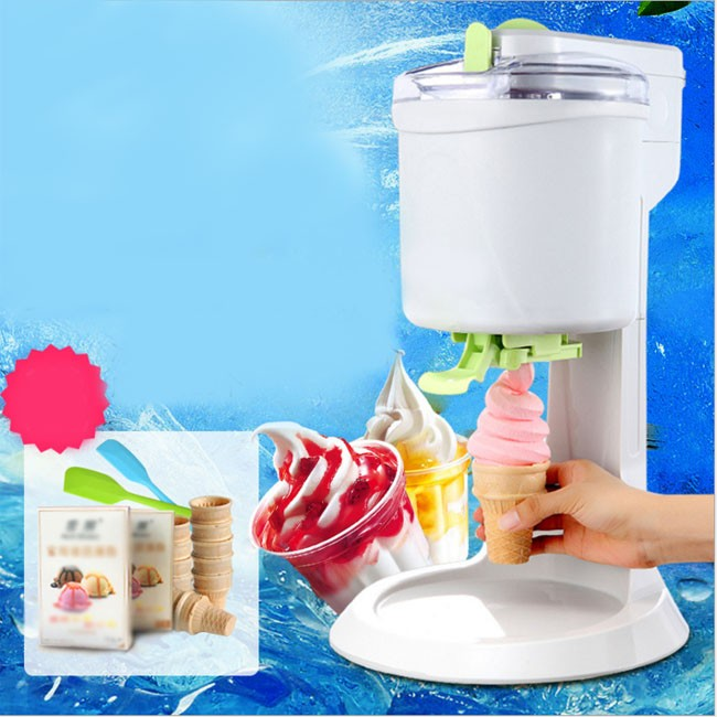 Ice cream machine home children's fruit cone automatic homemade small ice cream machine