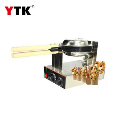 Commercial household egg waffle machine Hong Kong QQ egg cake electric hot egg  waffle machine rotating egg cake machine