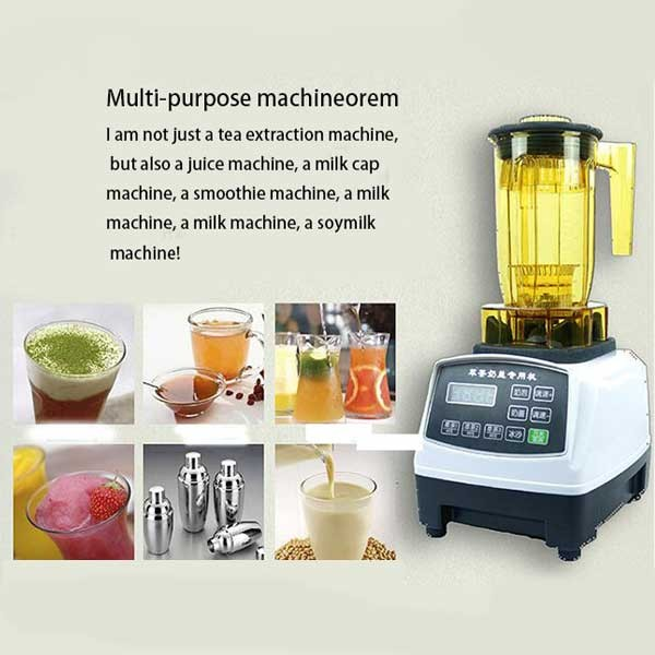 Commercial tea machine /milk cap milk foaming sand ice machine/ tea tea shop equipment shaved ice crushed ice tea tea teashake machine