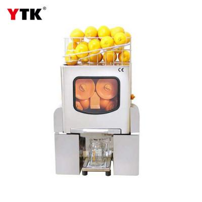 Factory direct semi-automatic commercial juicer stainless steel mask freshly squeezed orange juice machine