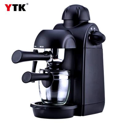 Factory direct coffee machine home small commercial Italian semi-automatic steam pump pressure type milk foam grinding