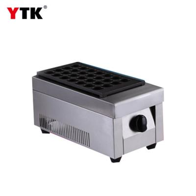 Built-in thermal insulation layer gas fish ball furnace Single-head grinding and spraying non-stick layer small octopus ball machine