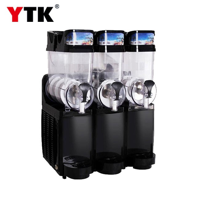 Three-cylinder commercial snow melting machine large capacity ice grain ice machine milk tea shop snow mud machine juice drink machine milkshake cold drink