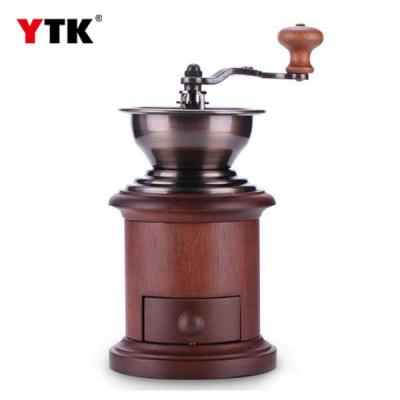YAMI Taiwan original solid wood drum hand grinder / coffee bean grinder / coffee greasy